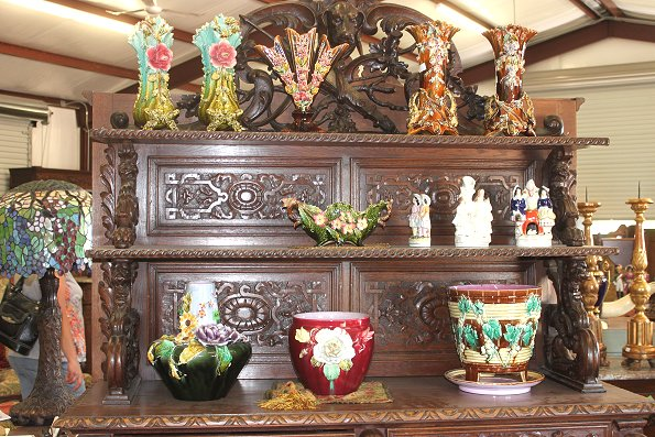 European antique furnishings, accessories