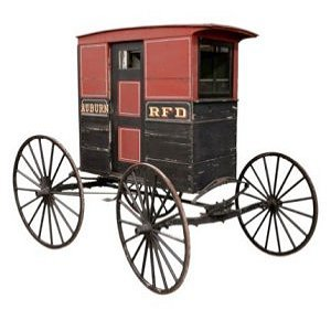 Antique Mail Carriage