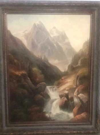 fine oil paintings, watercolors, antique framed paintings