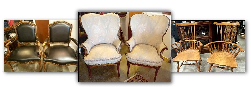 Pairs of Italian chairs, Georgian Chairs, Windson Chairs<br><br>