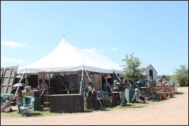 Old Henry Hall Antique Show