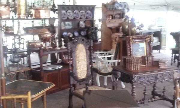 Antique accessories, furnishings, country decor
