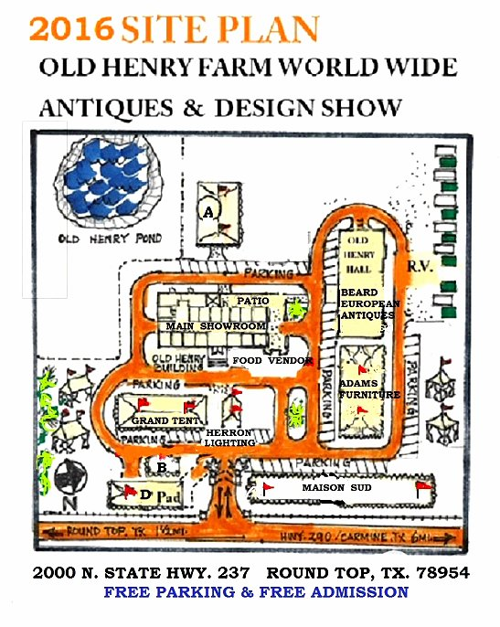 Round Top Spring Antique Show - Old Henry Farm
