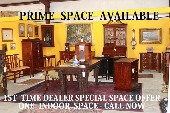 Prime Round top antique show space available
