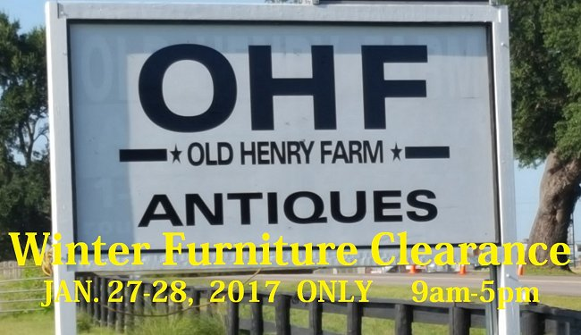 Old Henry Farm Winter Clearance